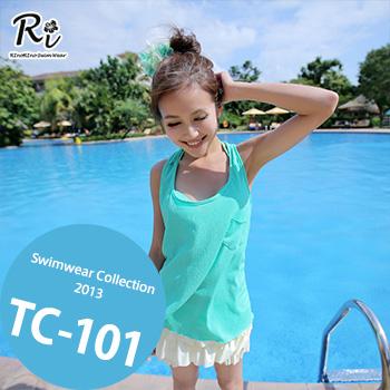 TC-101 SwimwearCollectionレディース水着/女性用水着/大きいサイズあり//体型カバー/タンキニ/セパレート/ワンピース