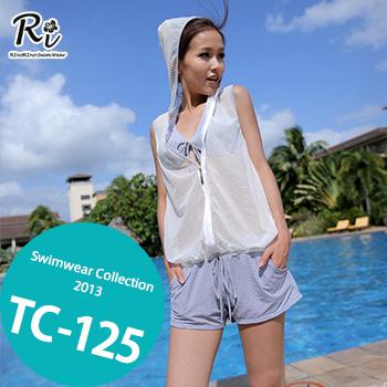 TC-125 SwimwearCollectionレディース水着/女性用水着/大きいサイズあり//体型カバー/タンキニ/セパレート/ワンピース