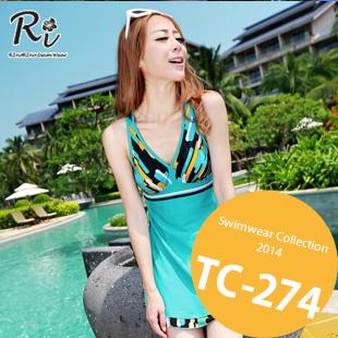 TC-274 SwimwearCollection レディース水着ワンピースレディース水着 新作/女性用水着/大きいサイズあり