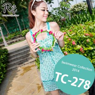 水着通販〜RinoRinoSwimWearブランドの TC-278 SwimwearCollection レディース水着ワンピースレディース水着 新作/女性用水着/大きいサイズあり