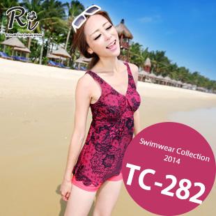 水着通販〜RinoRinoSwimWearブランドの TC-282 SwimwearCollection レディース水着ワンピースレディース水着 新作/女性用水着/大きいサイズあり