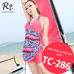 水着通販〜RinoRinoSwimWearブランドの TC-286 SwimwearCollection レディース水着ワンピースレディース水着 新作/女性用水着/大きいサイズあり