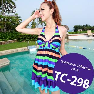 水着通販〜RinoRinoSwimWearブランドの TC-298 SwimwearCollection レディース水着ワンピースレディース水着 新作/女性用水着/大きいサイズあり