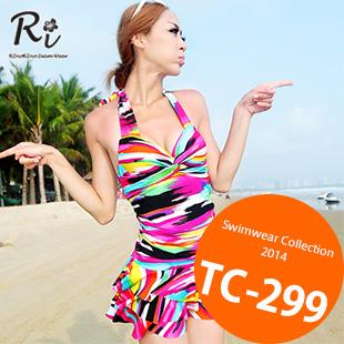 TC-299 SwimwearCollection レディース水着ワンピースレディース水着 新作/女性用水着/大きいサイズあり