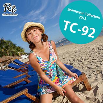 TC-92 SwimwearCollectionレディース水着/女性用水着/大きいサイズあり//体型カバー/タンキニ/セパレート/ワンピース