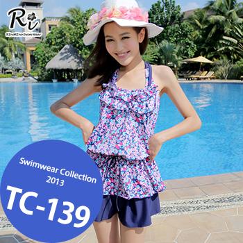 水着通販〜RinoRinoSwimWearブランドの TC-139 SwimwearCollectionレディース水着/女性用水着/大きいサイズあり//体型カバー/タンキニ/セパレート/ワンピース