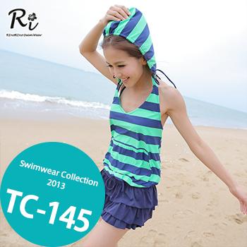 TC-145 SwimwearCollectionレディース水着/女性用水着/大きいサイズあり//体型カバー/タンキニ/セパレート/ワンピース