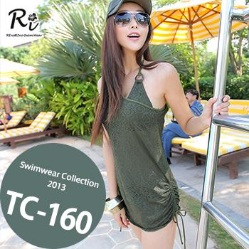TC-160 SwimwearCollectionレディース水着/女性用水着/大きいサイズあり//体型カバー/タンキニ/セパレート/ワンピース