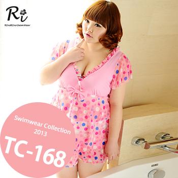 水着通販〜RinoRinoSwimWearブランドの TC-168 SwimwearCollectionレディース水着/女性用水着/大きいサイズあり//体型カバー/タンキニ/セパレート/ワンピース