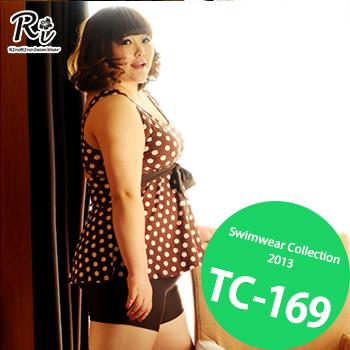 水着通販〜RinoRinoSwimWearブランドの TC-169 SwimwearCollectionレディース水着/女性用水着/大きいサイズあり//体型カバー/タンキニ/セパレート/ワンピース
