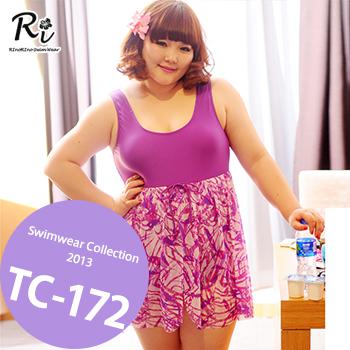 TC-172 SwimwearCollectionレディース水着/女性用水着/大きいサイズあり//体型カバー/タンキニ/セパレート/ワンピース