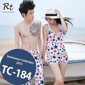 水着通販〜RinoRinoSwimWearブランドの TC-184 SwimwearCollectionレディース水着/女性用水着/大きいサイズあり//体型カバー/タンキニ/セパレート/ワンピース