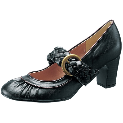 靴通販〜RyuRyuブランドの(フルサイズ)ベルト付パンプス