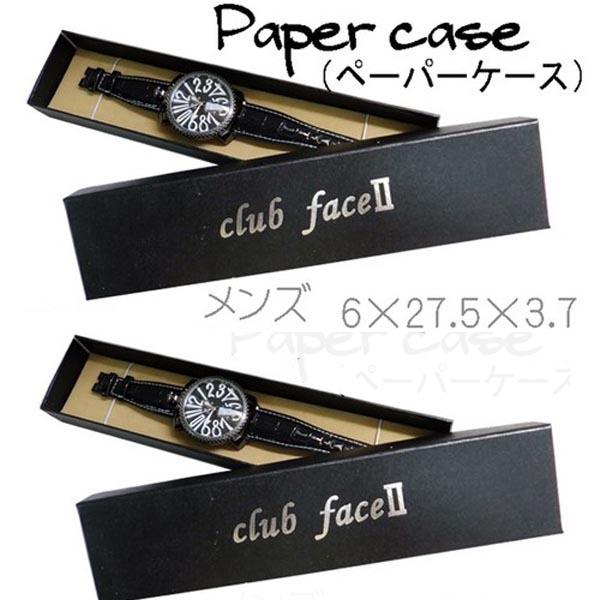 腕時計通販〜shoppers LAブランドの腕時計専用ブラックケース革バンド用メンズ対応od