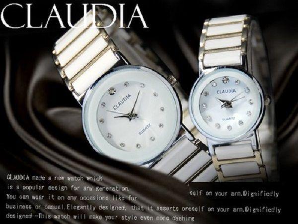 ジルコニアドレスペアウォッチ腕時計レディース&メンズod