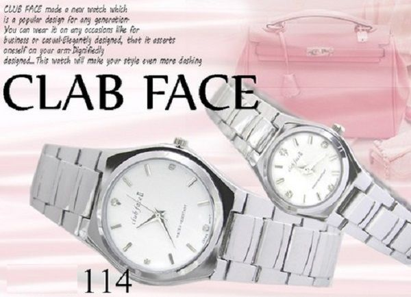 ジルコニア大人メタルペアウォッチ腕時計レディース&メンズod