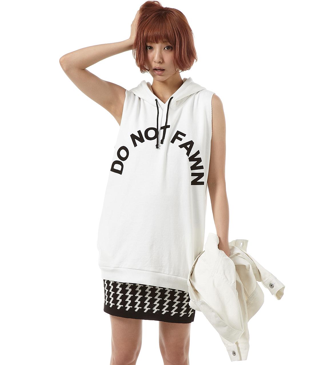 シャツ通販〜SLY LANGブランドの【SLY LANG】DO NOT FAWN スウェットPO/春夏/トレンド/ブランド