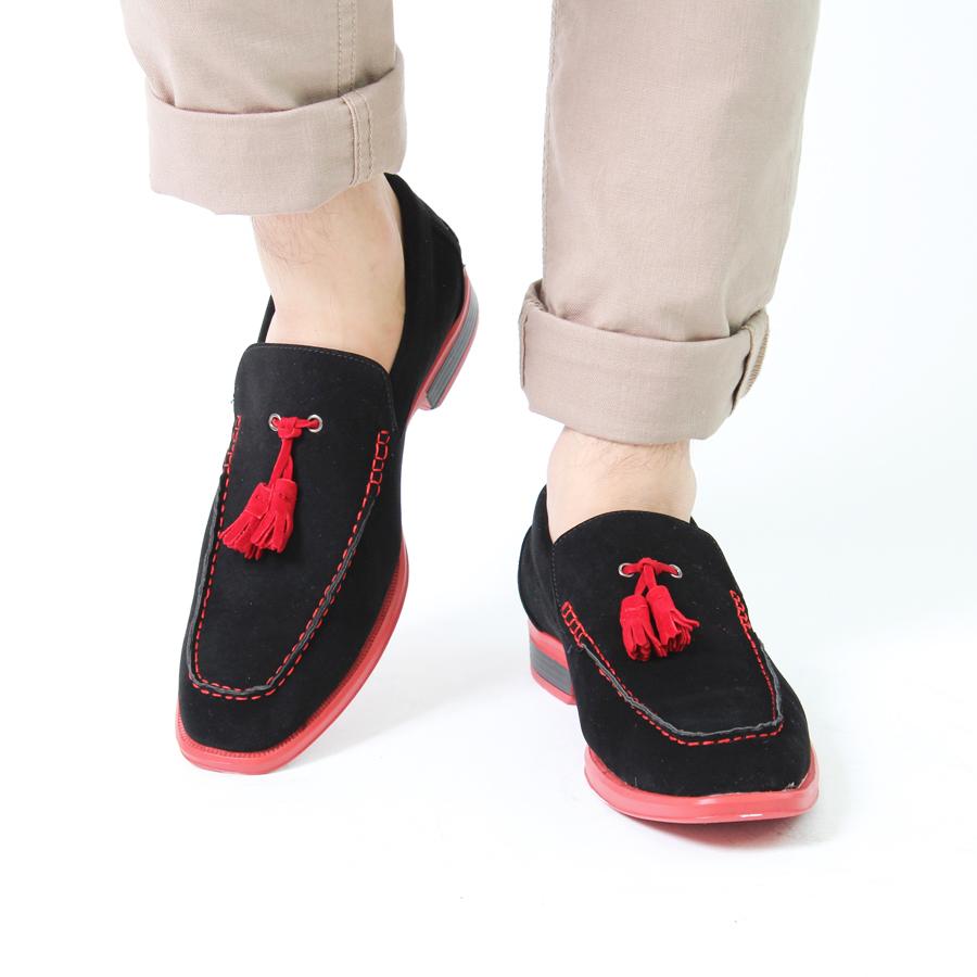 メンズ カラーソール 靴 ...