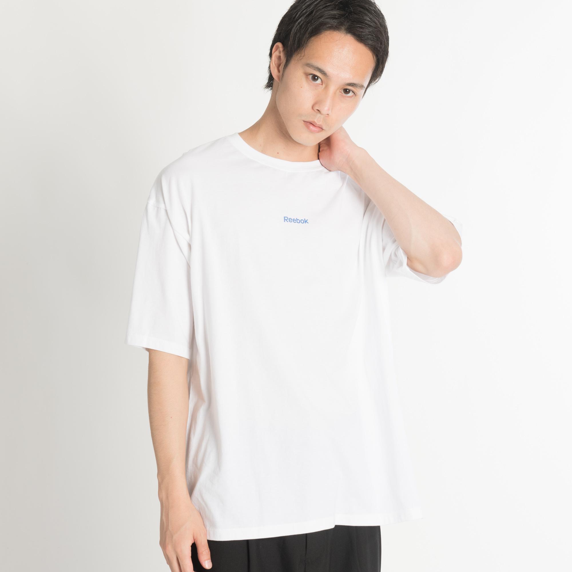 Dign 別注reebokロゴプリントt S 品番:wg010031682 |wego(ウィゴー)のメンズファッション通販