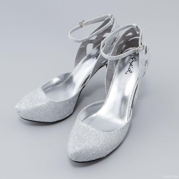 靴通販〜夢展望ブランドの[グリッターパンプス F]◆入荷済