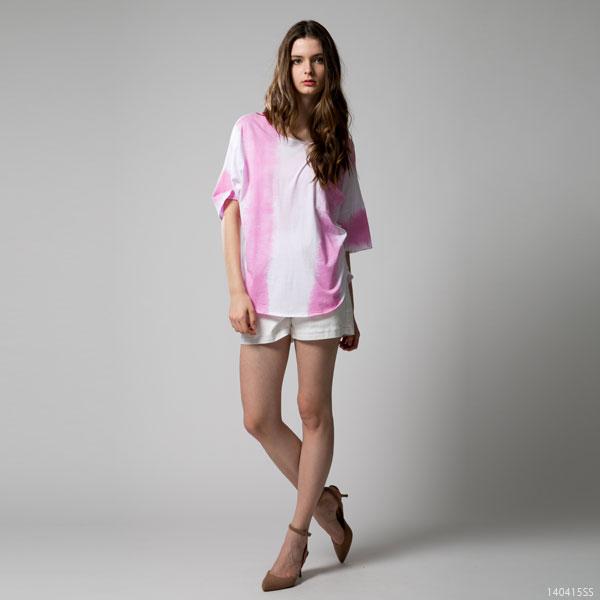 シャツ通販〜夢展望ブランドの[タイダイ柄ドルマントップス|F]◆入荷済