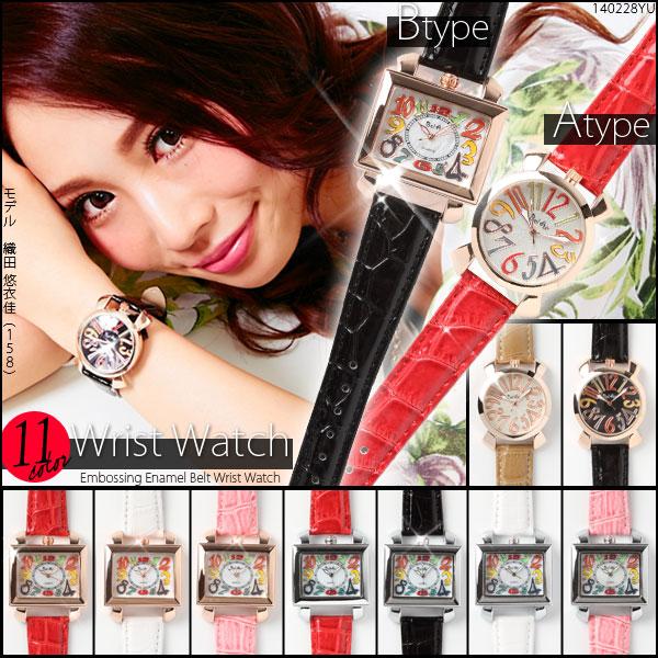 ベルト通販〜夢展望ブランドの[選べる♪数字文字盤の腕時計|G]◆入荷済
